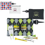 Pattern Golf Pouch Tee Kit - 2-3/4""