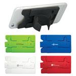 Porte-cartes avec support Pouce en l'air pour cellulaire