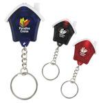 Porte-clés mini maison avec DEL