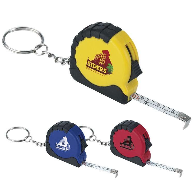 Porte-clés mini ruban à mesurer