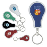 Porte-clés en forme d'ampoule