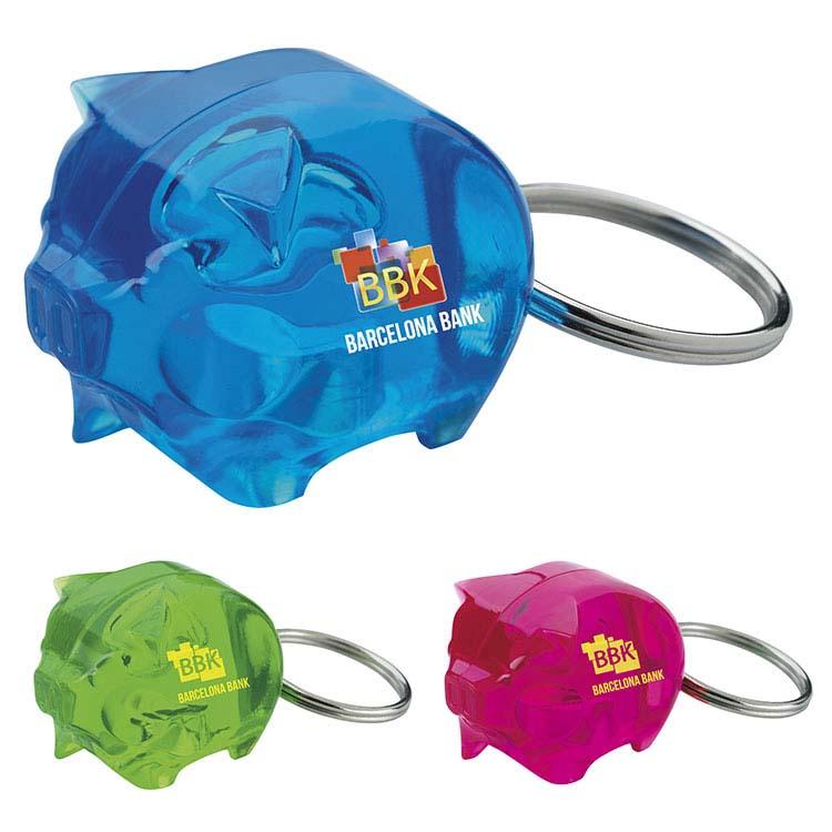 Porte-clés en forme de petit cochon