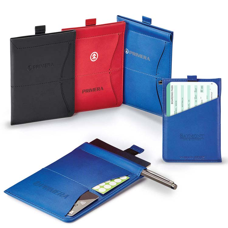 Porte-passeport avec protection IDRF/carnet mémo Donald