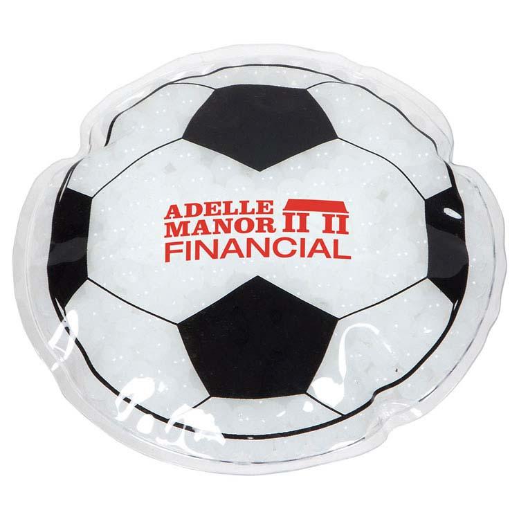 Coussin chaud/froid en forme de ballon de soccer