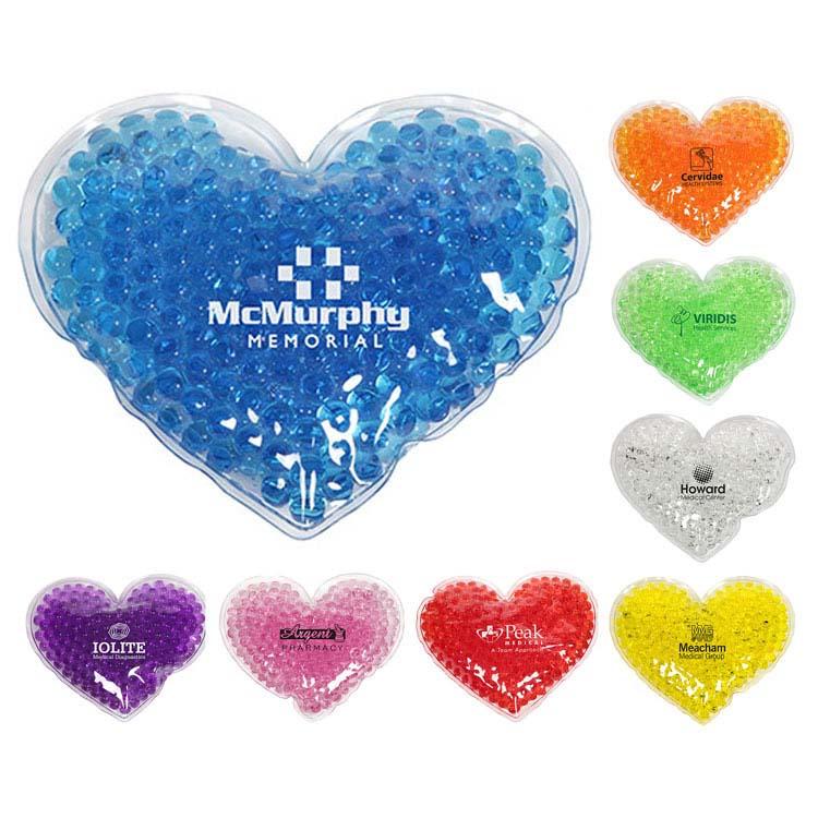Sac Aqua Perle thérapie de gel en forme de coeur