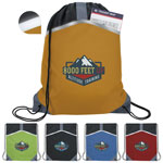 Safety Drawstring Backpack