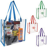 Clear Vinyl Game Tote