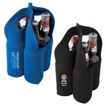 Malt Giver Neophrene Four Beer Bottle Carry Bag