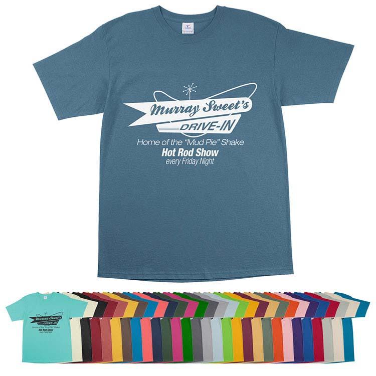T-shirts de 29 couleurs assorties