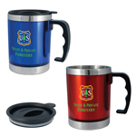 Multicolor 16 oz. Stainless Steel Mug