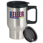 Stainless Steel Trip Mug 17 oz
