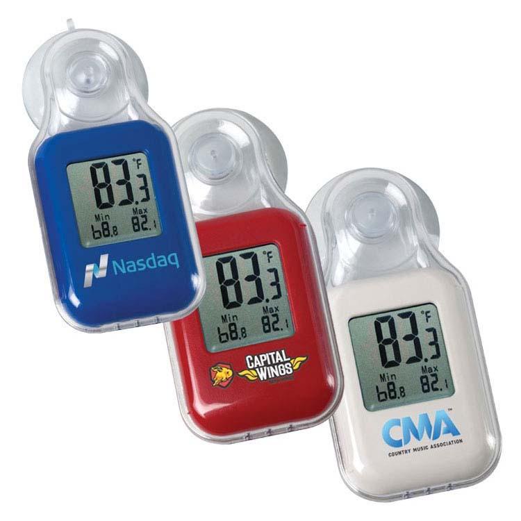 Thermomètre numérique Fahrenheit intérieur/extérieur