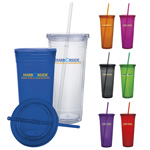 Double Wall Acrylic Tumbler - 24 oz