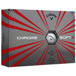Golf balls Callaway Hex Chrome Soft X