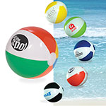 "Ballon de plage 16"" multicolore"