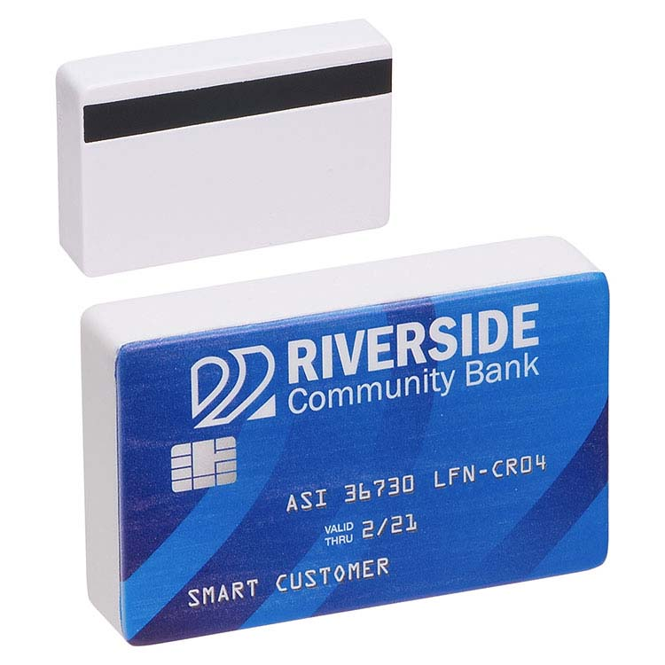 Carte de crédit balle anti-stress