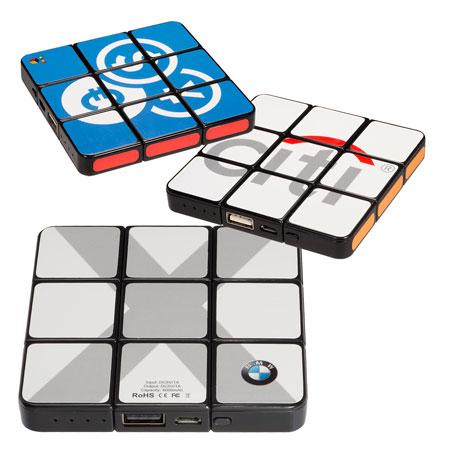 Chargeur portatif mince Cube Rubik #2