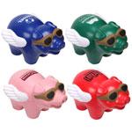 Cochon volant balle anti-stress