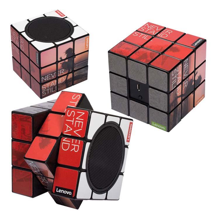 Cube Rubik haut-parleur Bluetooth personnalisé