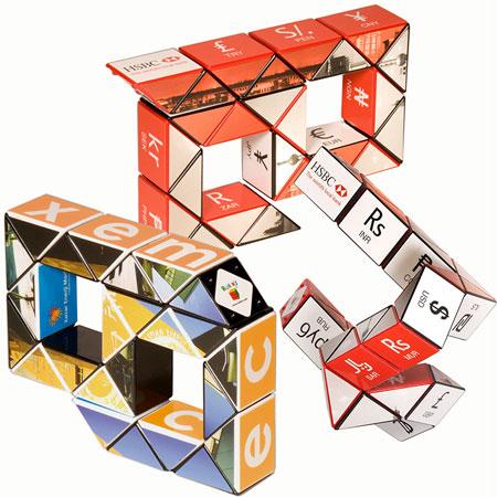 Cube Rubik serpent personnalisé #2