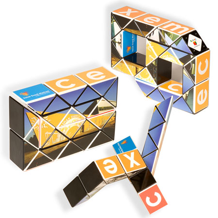Cube Rubik serpent personnalisé #3