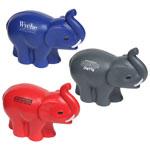 Éléphant avec trompe balle anti-stress