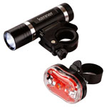 Bike Headlight and Taillight Set