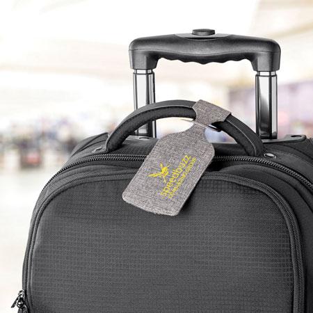 Étiquette à bagage Aqua #2