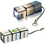 Lampe de poche Cube Rubik personnalisée