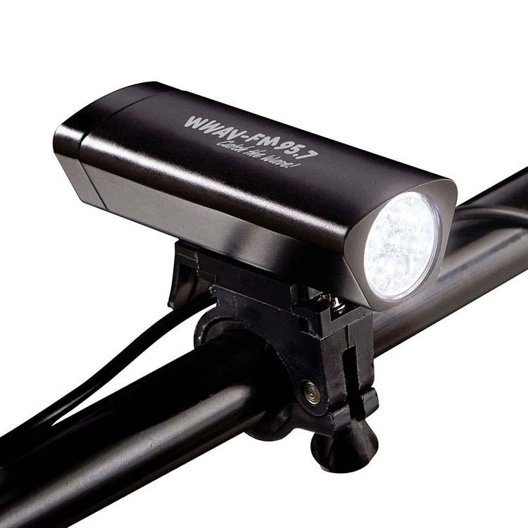 Lumière en métal pour vélo
