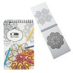 Mini cahier à colorier