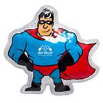 Pack chaud/froid réutilisable - Super-héro
