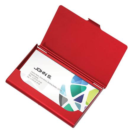 Porte-cartes d'affaires en aluminium #2