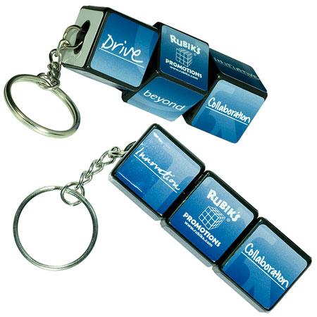 Porte-clés Cube Rubik personnalisé #2