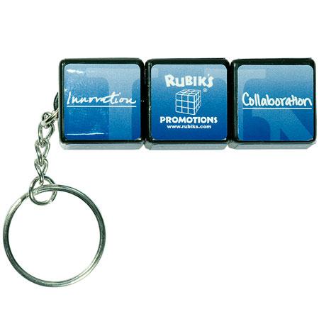 Porte-clés Cube Rubik personnalisé #3
