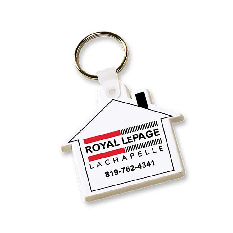 Porte-clés flexible maison