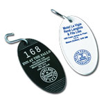 Oval Hotel Key Tag