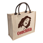 Jute and Cotton Shopping Bag