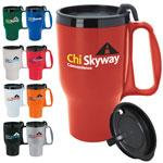 Budget Traveler Mug with Slider Lid 16 oz