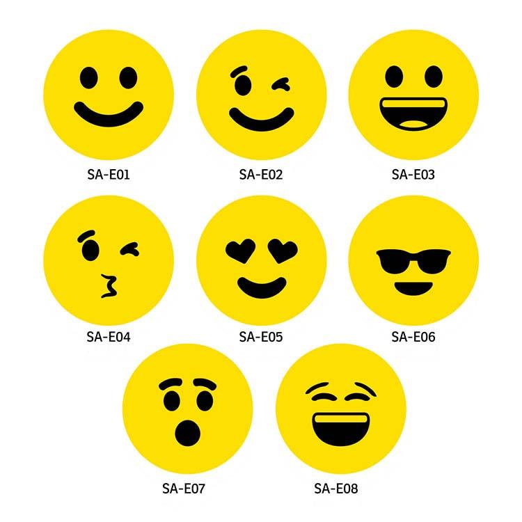 Balle anti-stress lente Emoji #2