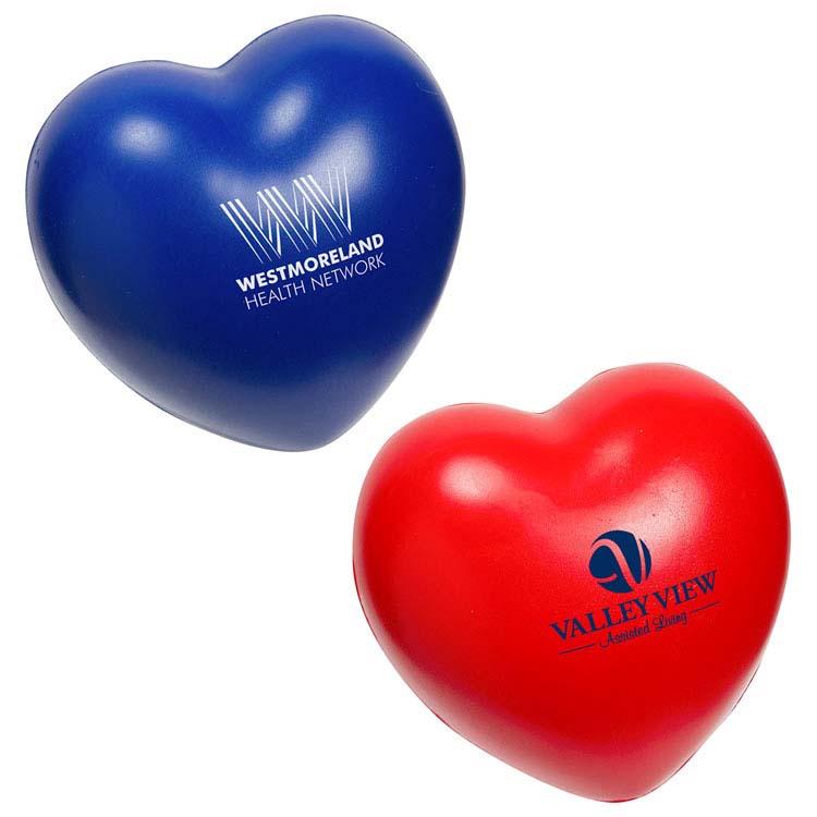 Balle anti-stress lente coeur