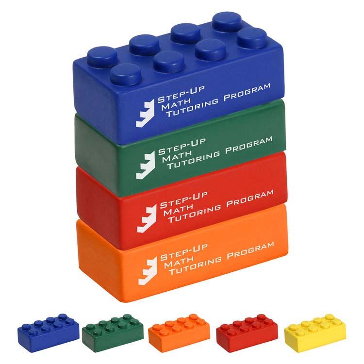Bloc de construction balle anti-stress - Ensemble de 4 blocs