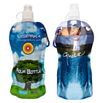 Aqua Bottle Reusable Foldable Water Bottle