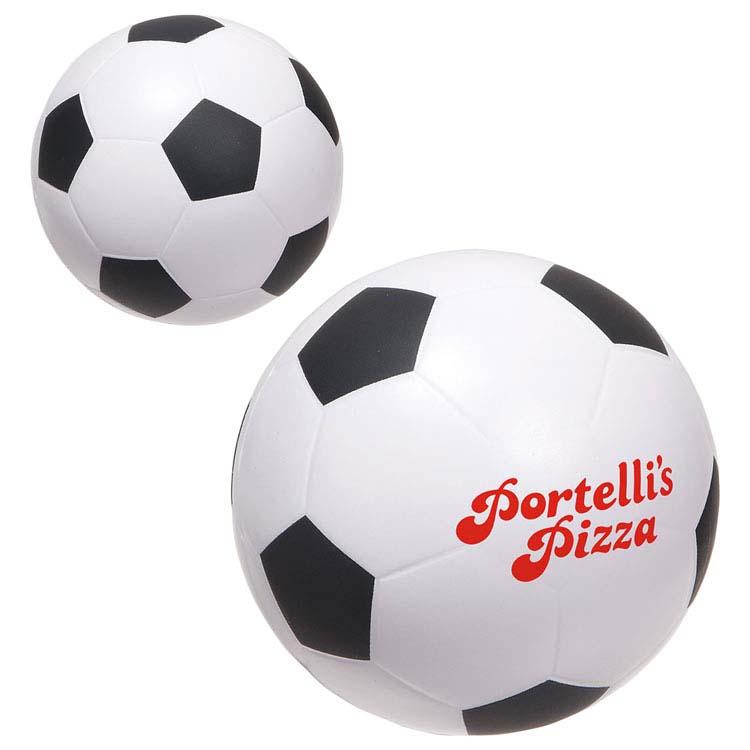 Grand ballon de soccer anti-stress