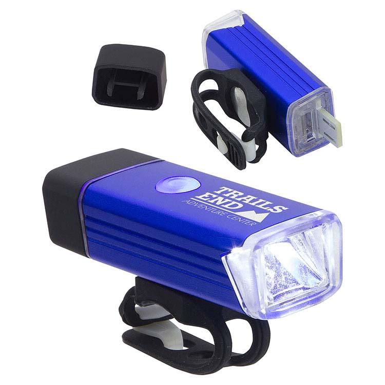 Lumière rechargeable pour vélo Radiant