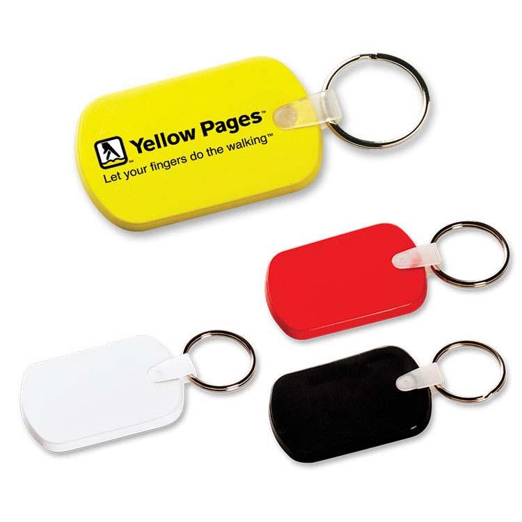 Porte-clés flexible oblong