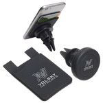 Store-Stand Wallet-Magnetic Car Mount Black