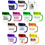 Lakeshore Tritan Mug with Translucent Handle and Lid