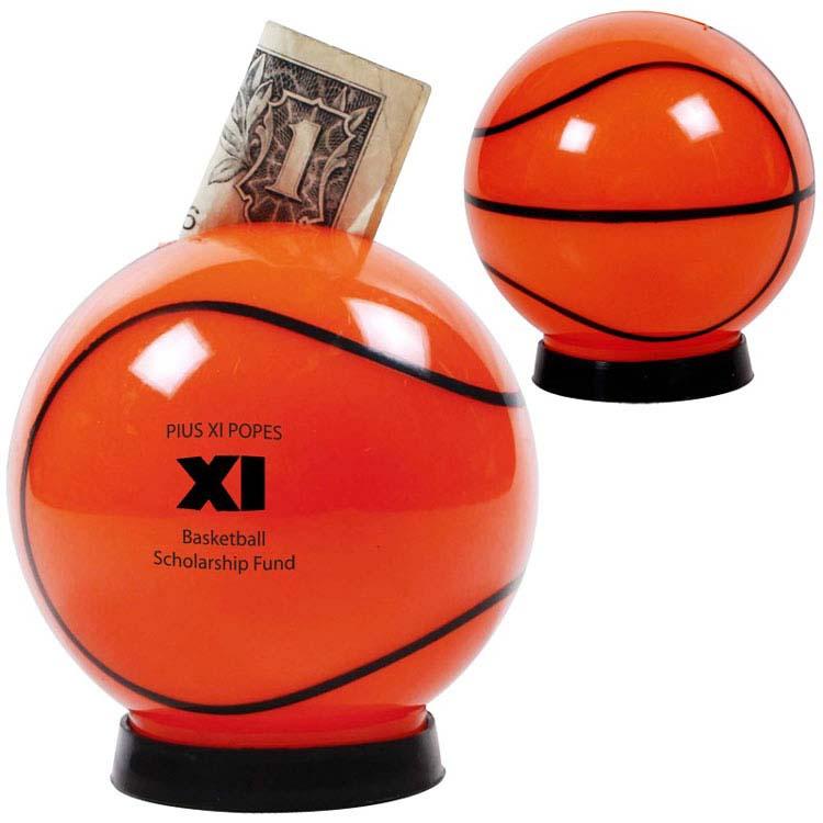 Tirelire ballon de basketball