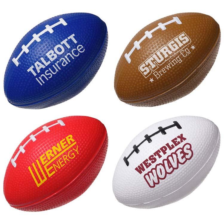 Balle anti-stress lente en forme de ballon de football